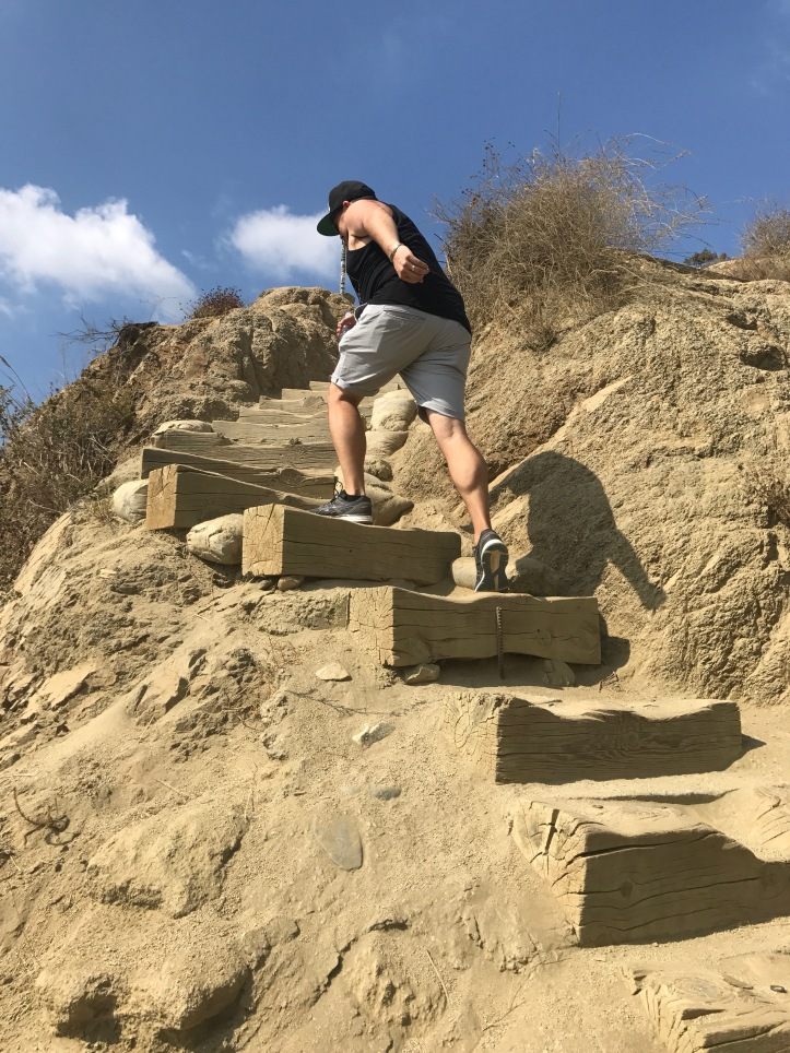 Runyon Canyon- stairs