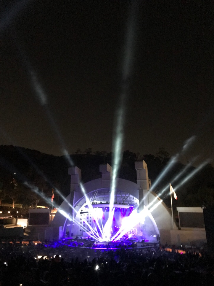 Hollywood Bowl all lit up for Pete Tong and the Heritage Orchestra