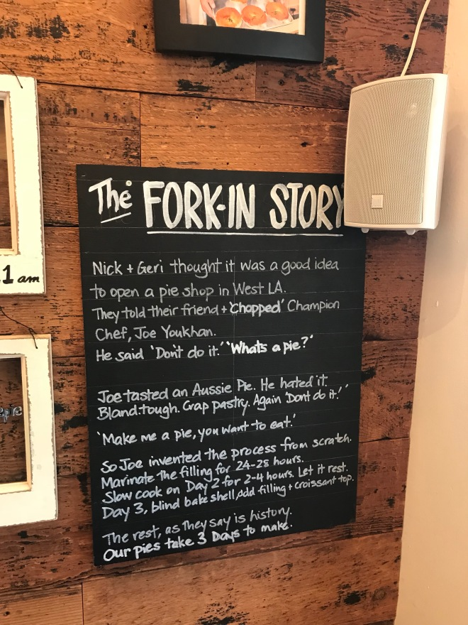 Fork-in Pies story